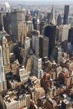 Aerial New York. City skyline Stock Photos
