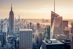 Aerial New York Royalty Free Stock Images