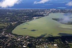 Aerial Nuku'alofa Stock Photography