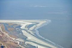 Aerial ocean Royalty Free Stock Image