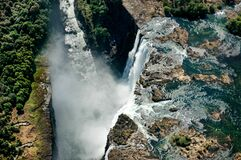 Free Aerial Of The Victoria Falls Stock Photography - 178732782