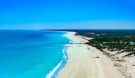 Free Aerial Over Broome Beach, Western Australia Royalty Free Stock Image - 159566716