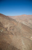 Aerial over Chile. Aerial panoramic over the South America country of Chile royalty free stock photography