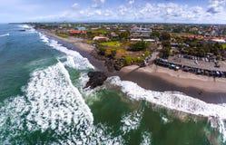 Aerial panorama of the beach Stock Photos
