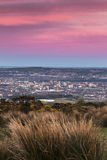 Aerial panorama of  Belfast Royalty Free Stock Photography