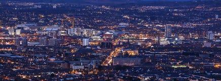 Aerial panorama of  Belfast Stock Image