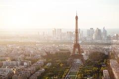 Aerial panorama of Paris Stock Images