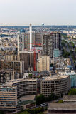 Aerial panoramic view of Paris, France Royalty Free Stock Photography