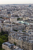 Aerial panoramic view of Paris, France Royalty Free Stock Photo
