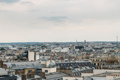 Aerial panoramic view of Paris, France Royalty Free Stock Images
