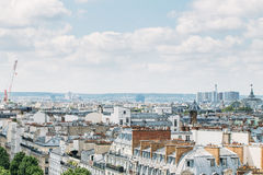 Aerial panoramic view of Paris, France Royalty Free Stock Image