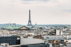 Aerial panoramic view of Paris, France Stock Image
