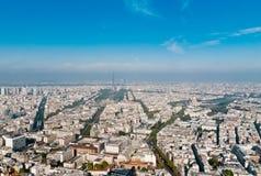 Aerial panoramic view of Paris Stock Photos