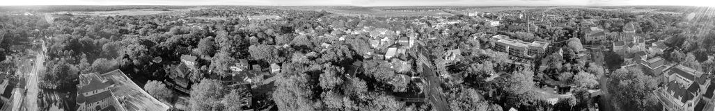 Aerial panoramic view of St Augustine, Florida Stock Images