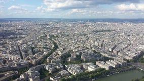 aerial paris view Στοκ Φωτογραφία