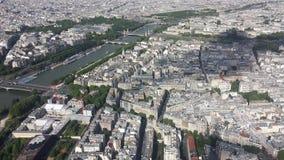 aerial paris view Στοκ φωτογραφία με δικαίωμα ελεύθερης χρήσης