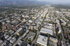 Aerial Pasadena California Stock Image