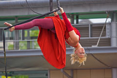 Aerial Performance Royalty Free Stock Photo