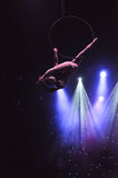 Aerial performer Stock Photography