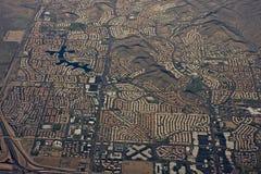Aerial of Phoenix Arizona Royalty Free Stock Photos
