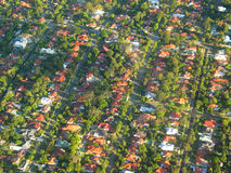 Aerial Photo. Graphy - The Suburb stock photography