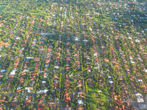 Aerial Photo. Graphy - The Suburb stock photos