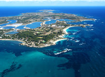 Aerial Photo. Graphy - The Island stock photos