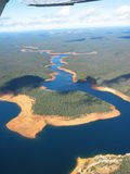 Aerial Photo. Graphy - The Reservoir stock photo