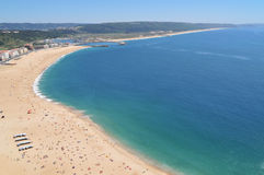 Aerial photo of beach Stock Photography