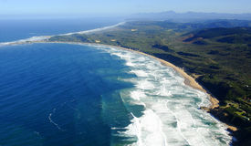 Aerial photo of Brenton on Sea Stock Photography
