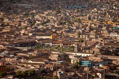 Aerial Photo, City Of Ayacucho, Peru Royalty Free Stock Images