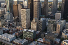 Aerial Photo City Skyline, Seattle, Washington, USA Stock Photo