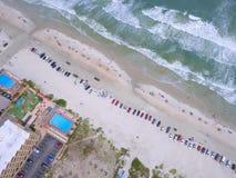 Aerial photo of Daytona Beach FL Stock Image
