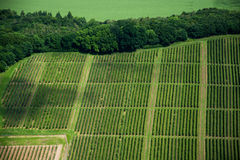 Aerial Photo of Domains, Germany Stock Images