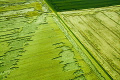 Aerial Photo of Domains, Germany Royalty Free Stock Image