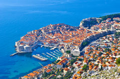 View of Dubrovnik Stock Images
