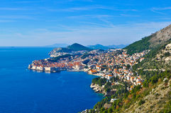 View of Dubrovnik Stock Photos