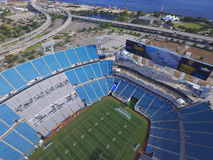 Aerial photo of the EverBank Field stadium royalty free stock images