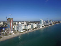 Aerial photo Hallandale Florida Stock Photo
