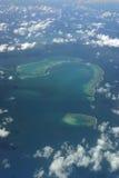 Aerial photo of Hook Reef Royalty Free Stock Image