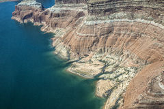 Aerial Photo, Lake Powell Stock Photography
