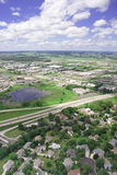 Aerial photo of Middleton Wisconsin Stock Images