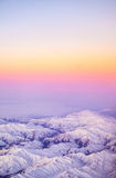 Aerial Photo of Mount. Beautiful View Stock Photography