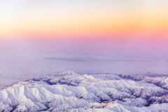 Aerial Photo of Mount. Beautiful View Stock Image