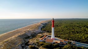 Free Aerial Photo Of Lighthouse La Coubre Royalty Free Stock Photography - 124477807