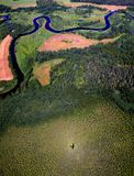 Aerial Photo Stock Image