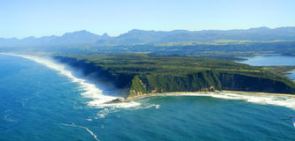 Aerial photo of Sedgefield, Garden Route, South Africa Stock Photography