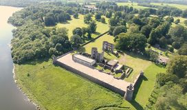 Aerial Photo of Shanes Castle Co. Antrim stock photos
