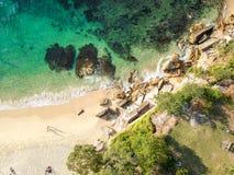 Aerial photo of Sydney royalty free stock photos