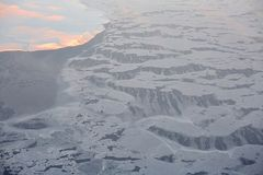 Aerial photograph on Siberia Stock Images